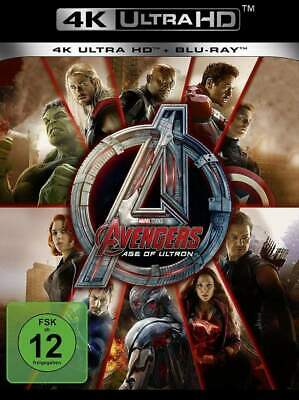 """AVENGERS AGE OF ULTRON"" - MARVEL Action - 4K ULTRA HD BLU RAY - 2-Disc-Set neu"