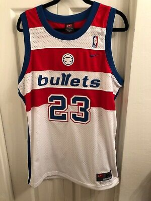 899195c96da VTG Nike Washington Bullets Michael Jordan Jersey 23 Sewn Mens Medium  Wizards