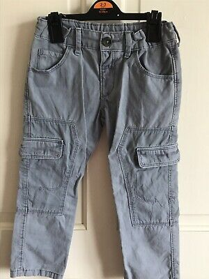 BNWOT Grey Combat Style Trousers/ Jeans. Boys. Age 3 - 4 Years