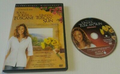 Under the Tuscan Sun DVD 2004 Widescreen Edition diane lane bilingual