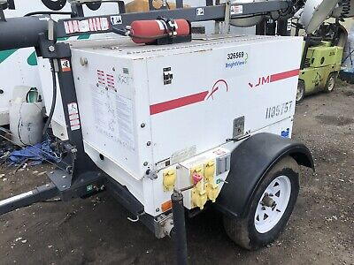 MULTIQUIP DCA25USI 20KW 25KVA Portable Diesel Generator on a