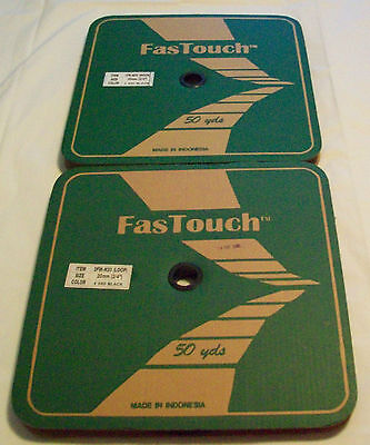 FasTouch Hook and Loop Fastener Rolls (50 Yards) (New)