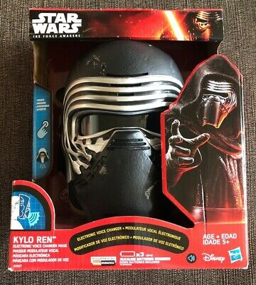 Star Wars: The Force Awakens~Kylo Ren Electronic Voice Changer Mask~Brand New