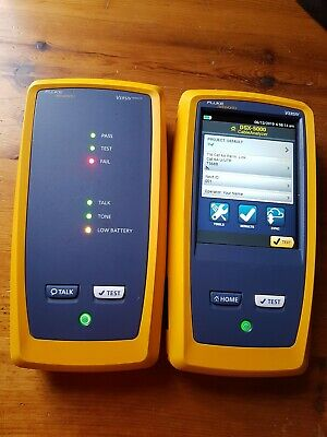 Fluke Dsx2-5000 Network Analyzer With Versiv 2 And Versiv 2 Remote