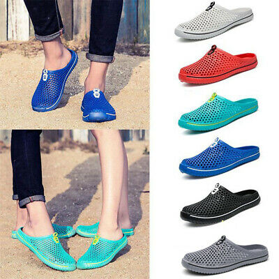 Hollow Out Mesh Beach Sandals Breathable Mesh Unisex Slippers Flats Shoes New