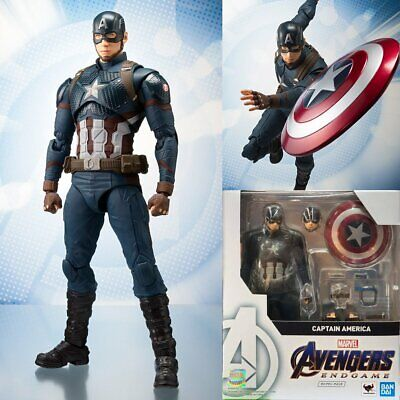 Bandai S.H.Figuarts Marvel Avengers 4 End Game Captain America SHF Action Figure