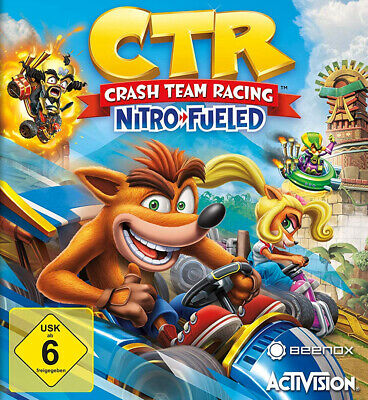 CTR - Crash Team Racing Nitro Fueled (PlayStation 4 / XBox One / Switch) NEW