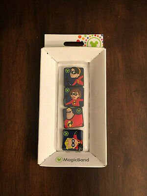 Disney Parks The Incredibles MagicBandits for MagicBand