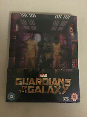 Guardianes de la Galaxia Steelbook BLURAY 3D UK - Nuevo precintado