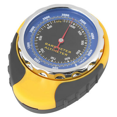 Portable Compass Altimeter Thermometer Barometer Outdoor Travel Camp Hike
