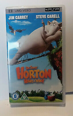 Horton Hears a Who  (very good) Sony PSP UMD Video Movie