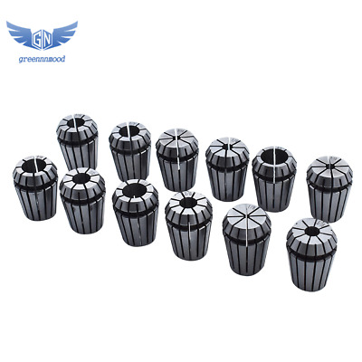 12pcs Spring Collet Set for CNC Workholding Engraving milling Lathe Tool ER25
