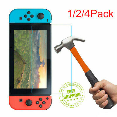 9H+ Real Premium Tempered Glass Screen Protector Film for Nintendo Switch AU ly