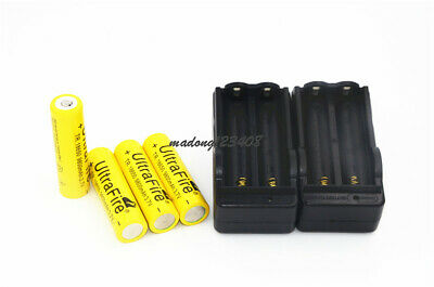 UltraFire 18650 3.7V 9800mAh Li-ion Rechargeable Battery For Flashlight+Charger