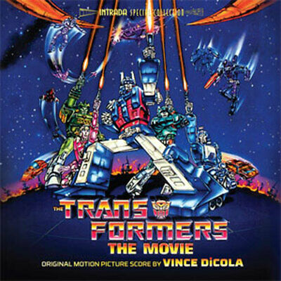 THE TRANSFORMERS: THE MOVIE ~ Vince DiCola CD