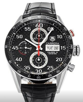 Tag Heuer Uk >> Tag Heuer Carrera Uk Limited Edition Automatic Watch Cv2a17