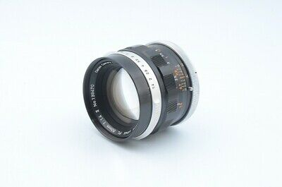 Excellent+ condition Canon FL 50mm F1.4 Lens SN 139470 from Japan