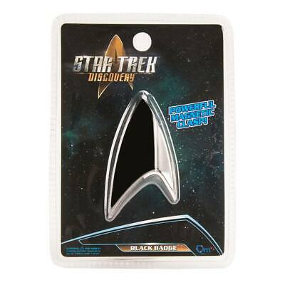 Star Trek Discovery badge noir section 31 Discovery Black badge official replica