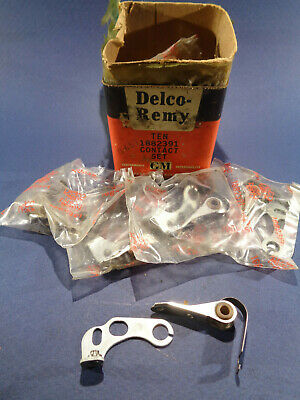 DELCO-REMY 1882391 CONTACT Points Set Lot of 3 (NOS) Delco Remy