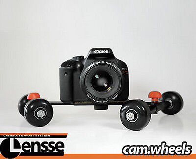 NEW Cam Wheels Camera Dolly Smooth Video Steady-Cam