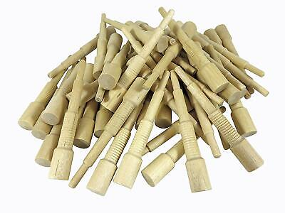 """Miller Dowel Pack 100 Each 2x Stepped Birch Dowels for Stock up to 1-5/8"""" Thick"""