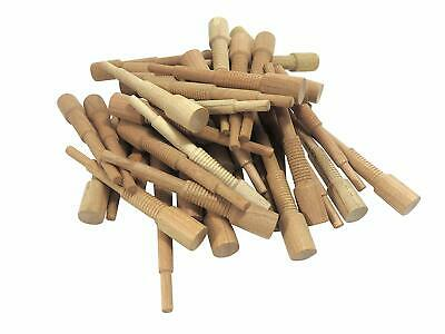 """Miller Dowel Pack 100 Each 1x Stepped Cherry Dowels for Stock up to 1"""" Thick"""