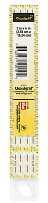 PRYM RIGHELLO UNIVERSALE Righello Patchwork 1 x 6 inch Omnigrid 611645