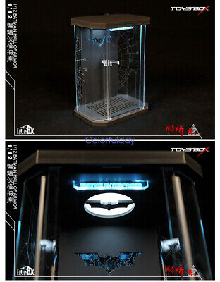 Toys-Box SHF Hall of Armor Comicave Acrylic 1//12 Display Case Box Fit MK3 Figure