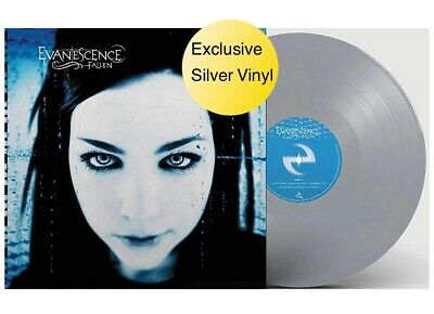 Fallen - Exclusive Limited Edition Silver Vinyl LP - Evanescence