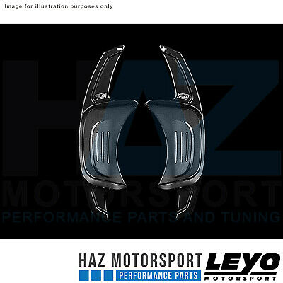 Leyo Motorsport MK7 Golf GTI/R Billet Paddle Shifters Black Gen.2 PGT002B