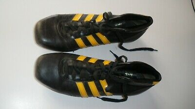 Crampons 60 Flanker Adidas Rugby Vintage Cuir Chaussures Annees Cleats 70 O80Pwnk