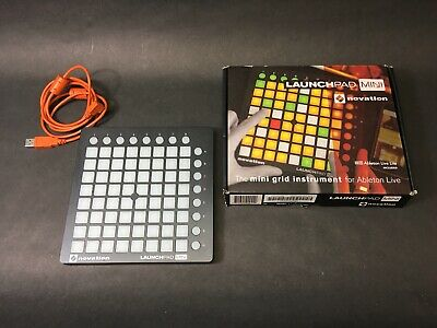 Novation Launchpad Mini MKII MIDI Pad Controller for Ableton Live Good Condition