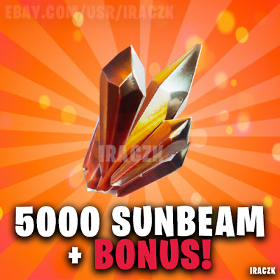 Fortnite: Save The World STW | x5000 Sunbeam Crystal- Best Price!!!
