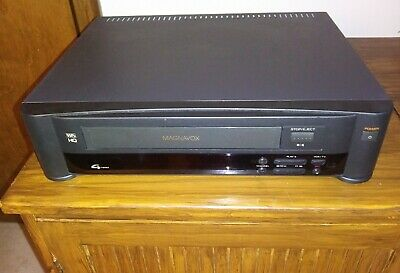 PHILIPS MAGNAVOX VR9140 VCR Video Cassette Player VHS Recorder HQ 4-Head  (New)