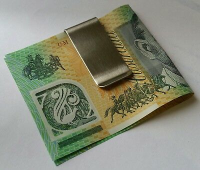 Money clip - show your worth.