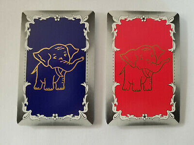 Single Suits (Clubs) - Vintage Swap Playing Cards - Elephant Sketches
