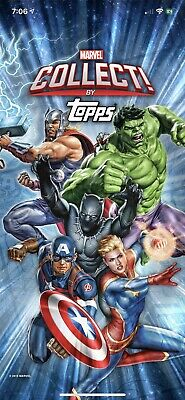 Topps MARVEL COLLECT DIGITAL Pick Any 1 Card For $1 Liquidation Sale