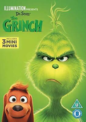 The Grinch-2018 Dvd-New & Sealed-Same Day Dispatch-Free P&P