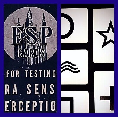 ESP TEST CARDS (50 Cards) Wiccan Pagan Witchcraft Supply