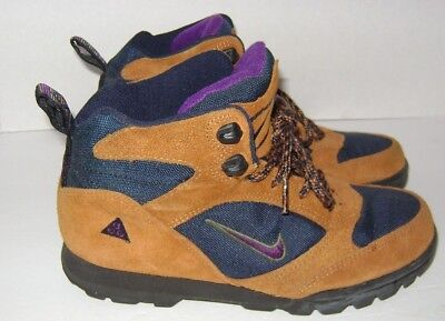 d713dee5fce NIKE VTG 1990'S Hiking Trail Boots Sneakers ACG Shoes Womens Size ...