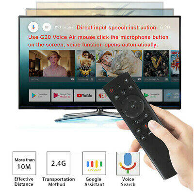 G20 Voice Remote Control Air Mouse 2.4G Wireless Sensor For Android TV Box