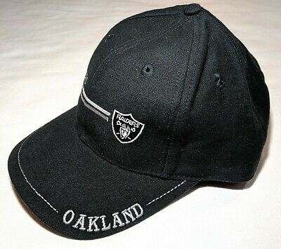 5f41ebc0984ff0 Oakland Raiders Throwback Logo 7 Cap NFL Football Game Day Hat Snapback  Rare New