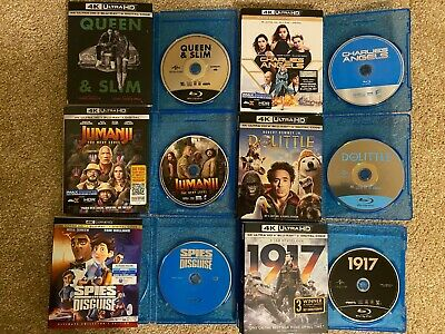 Blu-ray Movie Lot BUYER CHOOSES ANY TITLE(S) w/ SLIPCOVER/BLANK CASE! SEE INFO!