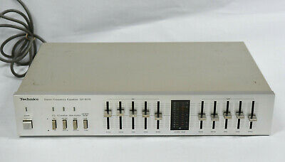 Technics SH-8015 4 Band Stereo Frequency Equalizer EQ Component (C)