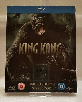 King Kong (2005) (Blu-ray SteelBook) (Zavvi Exclusive) [UK] - Import audio ITA