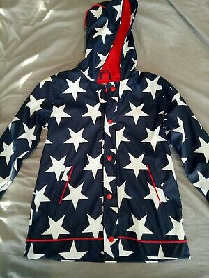 Penny scallan raincoat - Navy star, Size 6 - BNWT