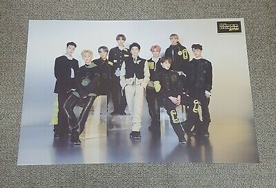 NCT 127 4th Mini Album [NCT #127 WE ARE SUPERHUMAN] OFFICIAL POSTER -NEW-