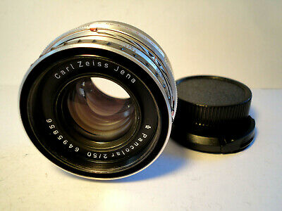 M42 Carl Zeiss Jena Pancolar 2/50mm 1Q  - TOP Condition Vintage Lens - RARE
