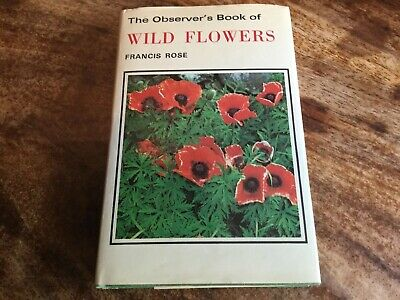 The Observer's Book Of Wild Flowers  Book (Francis Rose - 1979) (ID:30592)