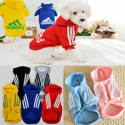 Pet Dog Winter Clothes Puppy Cat Hoodie Coat Jacket Hooded Sweater Sportwear '
